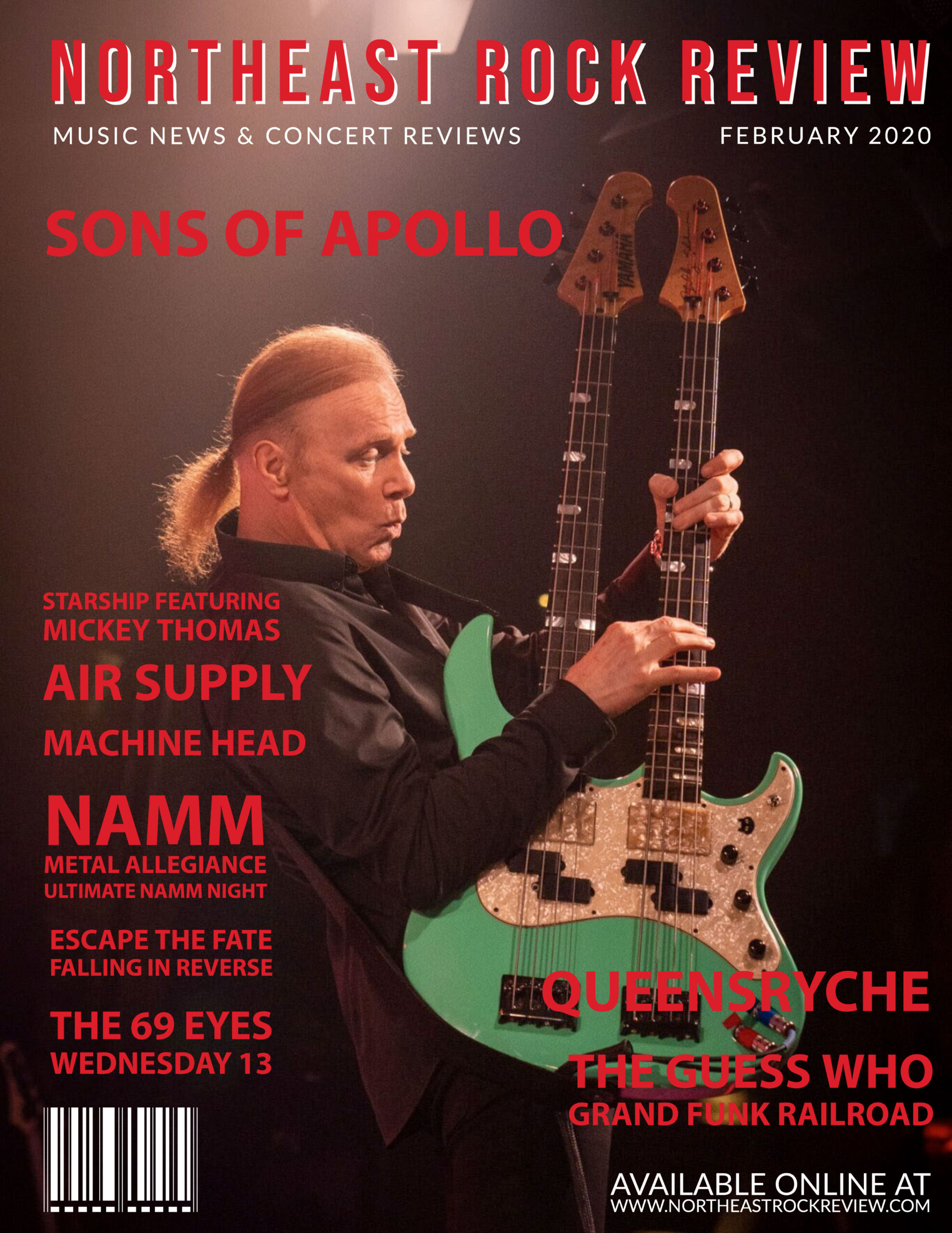 Northeast Rock Review - Billy Sheehan